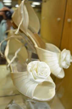 Cinderella is proof that a new pair of shoes can change your life! Complete your fairytale look with the perfect pair of shoes. Ballet Shoes, Dance Shoes, Fairytale, Cinderella, Pairs, Change, Couture, Bridal, Clothing