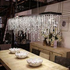 Люстра Icicle Chandelier Rectangle - Home Concept интерьерные магазины