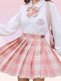 Pastel Outfit, Pink Outfits, Mode Outfits, Fashion Outfits, Mean Girls Outfits, Pastel Skirt, Kawaii Dress, Kawaii Clothes, Kawaii Outfit