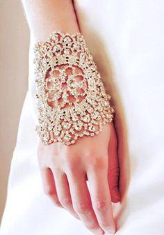 stunning sparkling bracelet