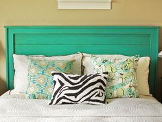 Easy Weekend Projects To Try This Summer. Headboard IdeasDiy ...