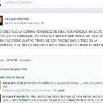 Enrique Precedo @eaprecedo profesor de derecho de la UBA en plena apología del delito. @Cristina Fernández de Kirchner