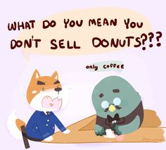 policemen only eat donuts didn't you know?!?? by mushuroom.deviantart.com on @deviantART