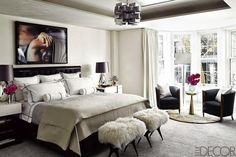 Trend Spotting White Interiors in Design, Home Decor, Art, Accessories, Style and Fashion. Featured: All White Color Palettes in the Bedroom