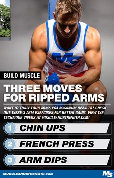 Have you been doing curls for months with nothing to show? You may have arm training all wrong. Check out Lee Boyce's top 3 exercises for arm development!