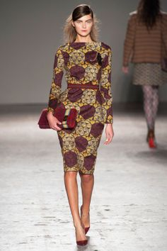 Stella Jean Fall 2014 Ready-to-Wear Milan Fashion week African Dresses For Women, African Print Dresses, African Attire, African Wear, African Women, African Prints, African Style, African Clothes, African Fabric