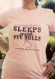 a gift from my mother in law.. a pitbull shirt  #pitbull