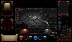 【原创】暗黑风格界面  GAMEUI- 游戏设计圈聚集地   游戏UI   游戏界面   游戏图标   游戏网站   游戏群   游戏设计