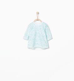 ZARA - MINI - Camiseta estampado estrellas
