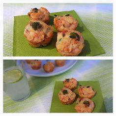 Lachs-Brunnenkresse-Muffins