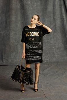 #fashion #moschino #jeremyscott #model