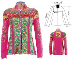 IVKO Woman`s Cotton Cardigan Style 51502 072 in PINK