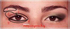 Truques para maquiar olhos pequenos e fundos