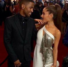 Ariana Grande and Big Sean at the Grammys 2015