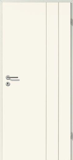 Porte intérieure contemporaine Westaline type 2505 ral 7004 - couleur des portes interieur