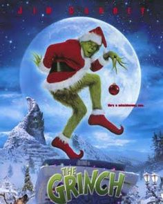 Day 11 of the Twelve Days of Christmas movies brings us to... Dr. Seuss' How the Grinch Stole Christmas starring Jim Carrey. Another holiday favorite!  #christmasmovies #merrychristmas #happyholidays #twelvedaysofchristmas