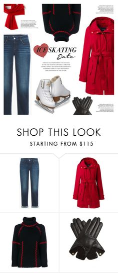 """""""Ice Skating Date"""" by voguebits ❤ liked on Polyvore featuring Lands' End, Alexander McQueen, AGNELLE, Lacoste and iceskatingoutfit"""