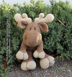 Ravelry: KISS Series - Moose pattern by K4TT