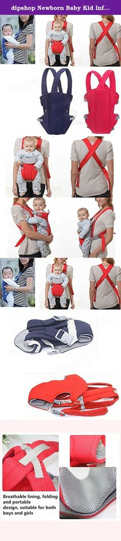 dipshop Newborn Baby Kid Infant Carrier Backpack Front Back Rider Sling Comfort Wrap Bag ( Red ). : Newborn Baby Kid Infant Carrier Backpack Front Back Rider Sling Comfort Wrap Bag This is a comfortable, flexible and fashionable backpack, which is convenience for you to carrying and looking after baby. Wide and padded shoulder harness design, it can really lighten the burden of your shoulders. Adjustable sturdy buckle, it can adjust to fit your baby's build. Adjustable side buckles for…