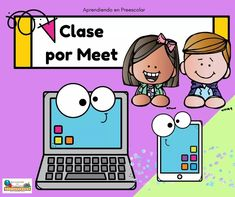 Virtual Class, Borders For Paper, English Class, Craft Work, School Projects, Overlays, Kindergarten, Preschool, Teacher