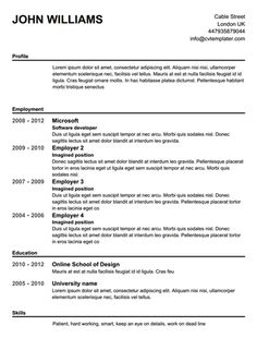 free resume builder download software with totally letter recommendation - Totally Free Resume Template
