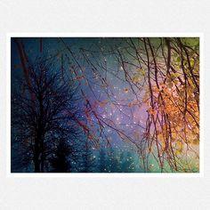 Starry Night Decor Photography purple by moonlightphotography, $28.00