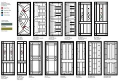 Decorative Aluminium Security^ Doors