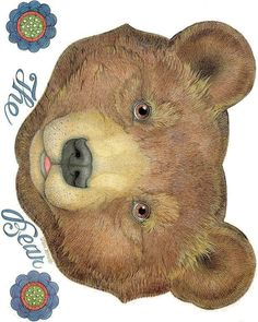 The mitten - The Bear (mask) Jan Brett