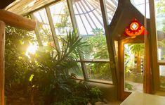 Earthship landet in Tempelhof Earthship Home, Inside Garden, Off The Grid, Green Building, Solar, Windows, Houses, Cob, Characters