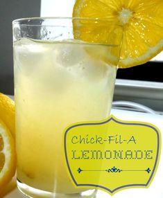 Chick-Fil-A Copy Cat lemonade recipe
