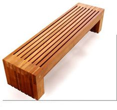 Wood Outdoor Bench