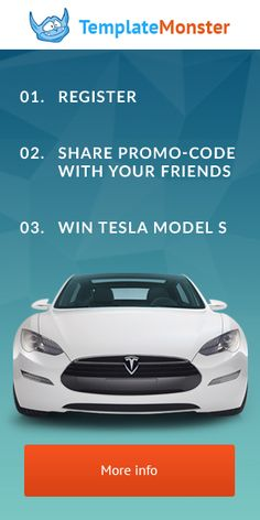 Take Part in Social Stock #GiveAway from #TemplateMonster - Win #Premium #Themes and #TESLA ! http://www.wpdailythemes.com/blog/templatemonster-social-stock-giveaway/