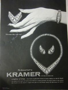 1954-Vintage-Kramer-Rhinestone-Jewelry-Swear-They-Were-Real-Diamonds-Ad