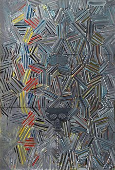 Jasper Johns, Tantric Detail, 1980
