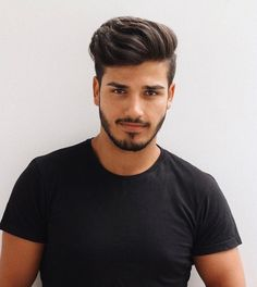 Image could contain: 1 person, close-up Best Picture For hair and beard styles women For Your Taste Quiff Hairstyles, Cool Hairstyles For Men, Haircuts For Men, Barber Haircuts, Modern Haircuts, Funky Hairstyles, Formal Hairstyles, Short Haircuts, Wedding Hairstyles