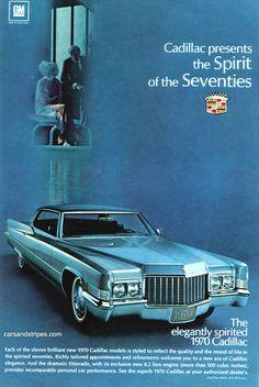 1970 Cadillac - The Spirit of the Seventies - Original Ad