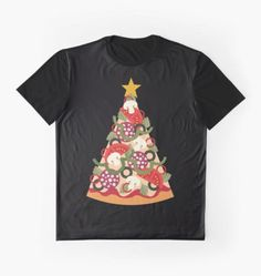 Pizza on Earth - Pepperoni, Graphic Tee by Daisy Beatrice on Redbubble Crazy Outfits, Pepperoni, Chiffon Tops, Daisy, Graphic Tees, Classic T Shirts, Pizza, Earth, Unique