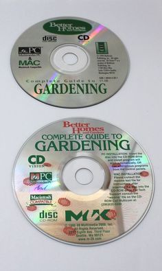 Better Homes And Gardening Lot of 2 CD s and Paper Sleeves Only   eBay