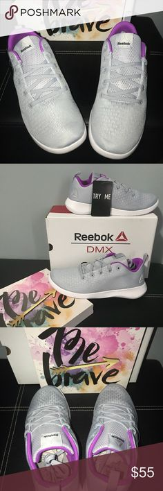 NWT New Women's DMX Reebok's walking shoes NWT. Gorgeous color for these super lite shoes. This style seriously feels like you're wearing feathers 🕊! They will be shipped in original box📦 Reebok Shoes Sneakers