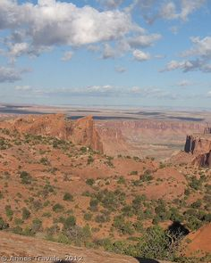Part of the view from Whale Rock, Island int he Sky, Canyonlands National Park, Utah