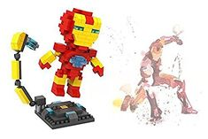 LOZ 250pcs Ironman Super Hero Avengers Building Block DIY Bricks Toys Gifts 9447 * See this great product.(It is Amazon affiliate link) #LoveForMarvel Pretend Play, Coupon Organization, Bricks, Discount Shopping, Iron Man, School Classroom, Avengers, Black Friday, Coupons