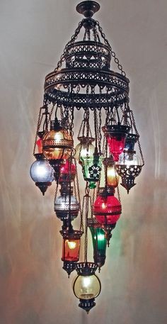 Large ottoman chain chandelier 6 lamps ottoman lamps chandeliers turkish moroccan ottoman chandelier arabian nights chandelier from grandbazaarshopping aloadofball Image collections