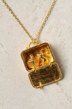 Picnic Lunch necklace. #anthropologie Truly the cutest thing I've ever seen