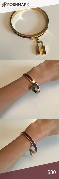 Designer bracelet with leather Designer bracelet with leather Jewelry Bracelets