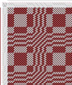 Weaving Draft No. 26, Plain Block Carpet., J. and R. Bronson, United States, 1817, #8783