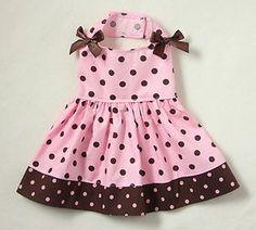 Polka Dot Dog dress