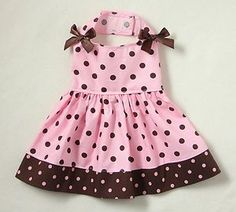 Polka Dot Dog dress