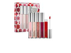 This #lipgloss set from @Smashbox Cosmetics Cosmetics would make any girl smile. #makeup #beauty #holiday #giftideas