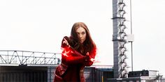 Elizabeth Olsen as Wanda Maximoff/Scarlet Witch in Captain America: Civil War [x] [x] [x] Ms Marvel, Wanda Marvel, Marvel Dc Comics, Marvel Heroes, Marvel Gif, Captain Marvel, Scarlet Witch Marvel, The Avengers, Jean Grey