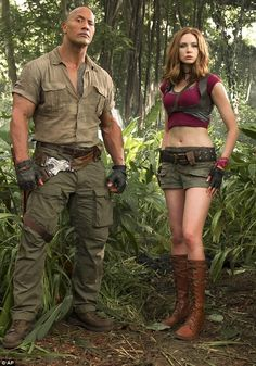 Skimpy costume:  Jumanji: Welcome To The Jungle actress Karen Gillan said she understands why fans got annoyed about her film outfit in an interview released on Tuesday